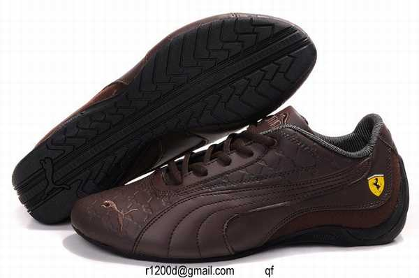 chaussures puma cuir marron basket puma marron chaussure puma ferrari homme pas chere. Black Bedroom Furniture Sets. Home Design Ideas