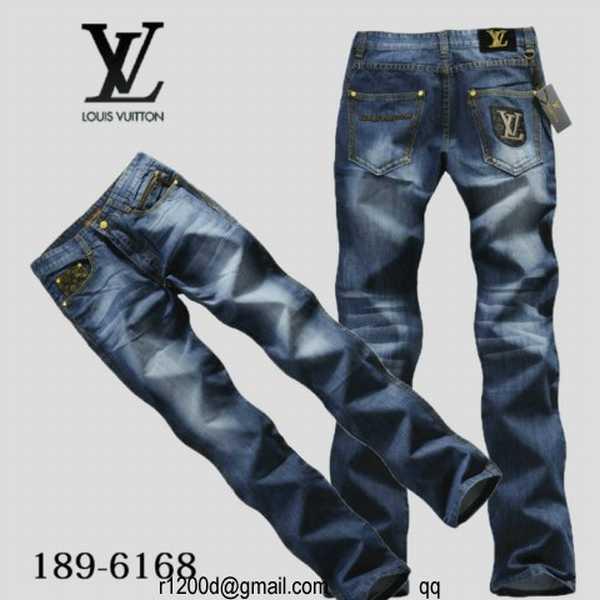 Jeans slim de marque homme jeans louis vuitton vente - Vente privee pas cher ...